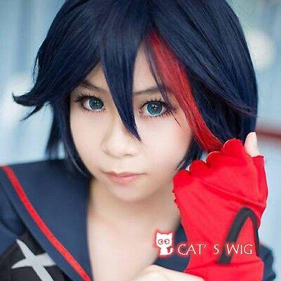 Kill la Kill Matoi Ryuko cosplay kostüm perücke (Ryuko Cosplay Kostüm)