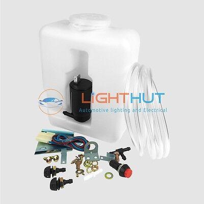 Genuine Wipac Premium 1.2 Litre Windscreen Washer Bottle Screenwash Kit inc Pump