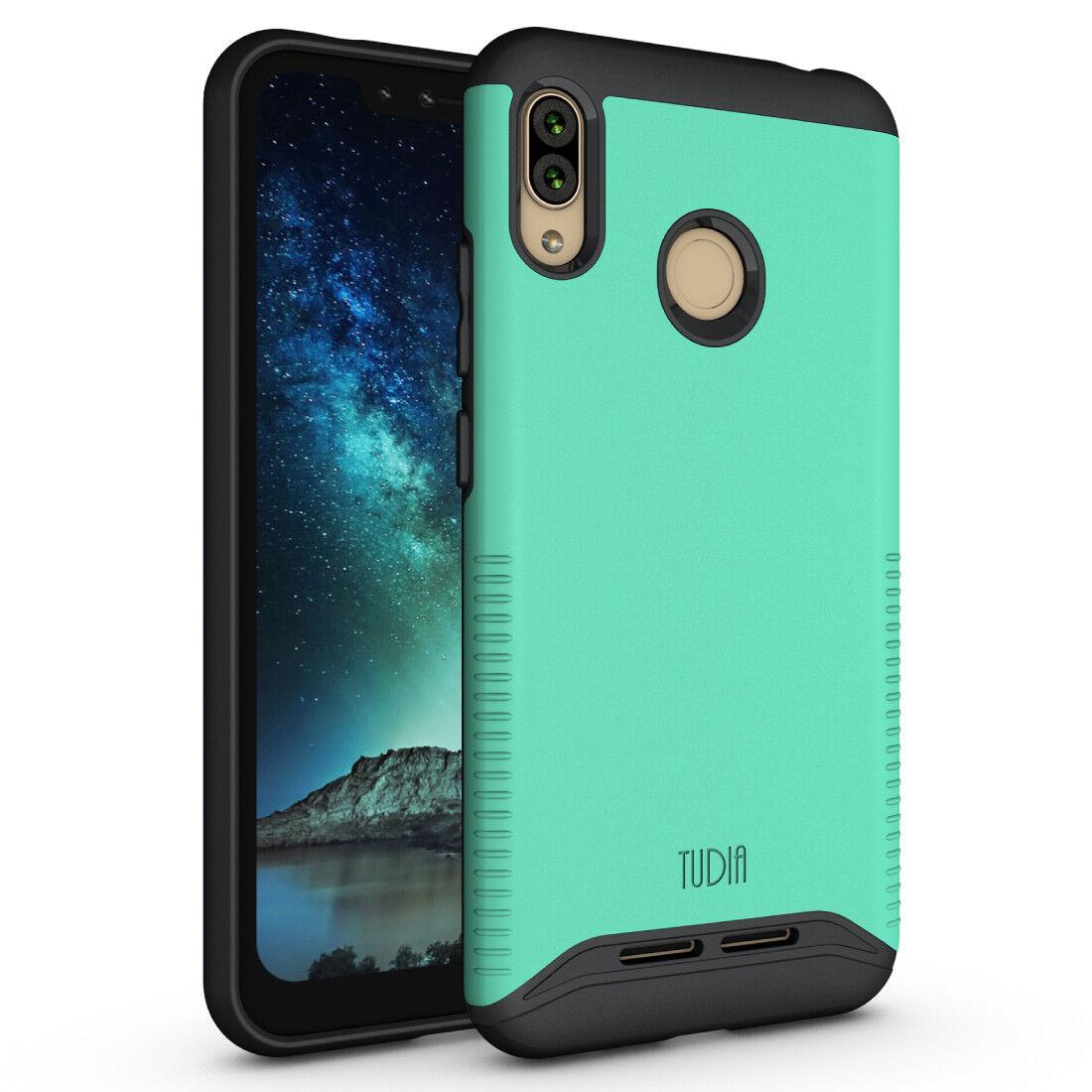 TUDIA Slim-Fit MERGE Dual Layer Protective Cover Case for BLU VIVO XL4
