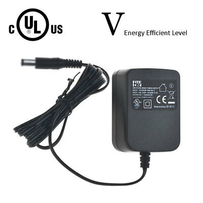 Fite ON 9V 1A AC Adapter 100-240V 5.5mm x 2.1mm for Arduino CCTV US Plug Power