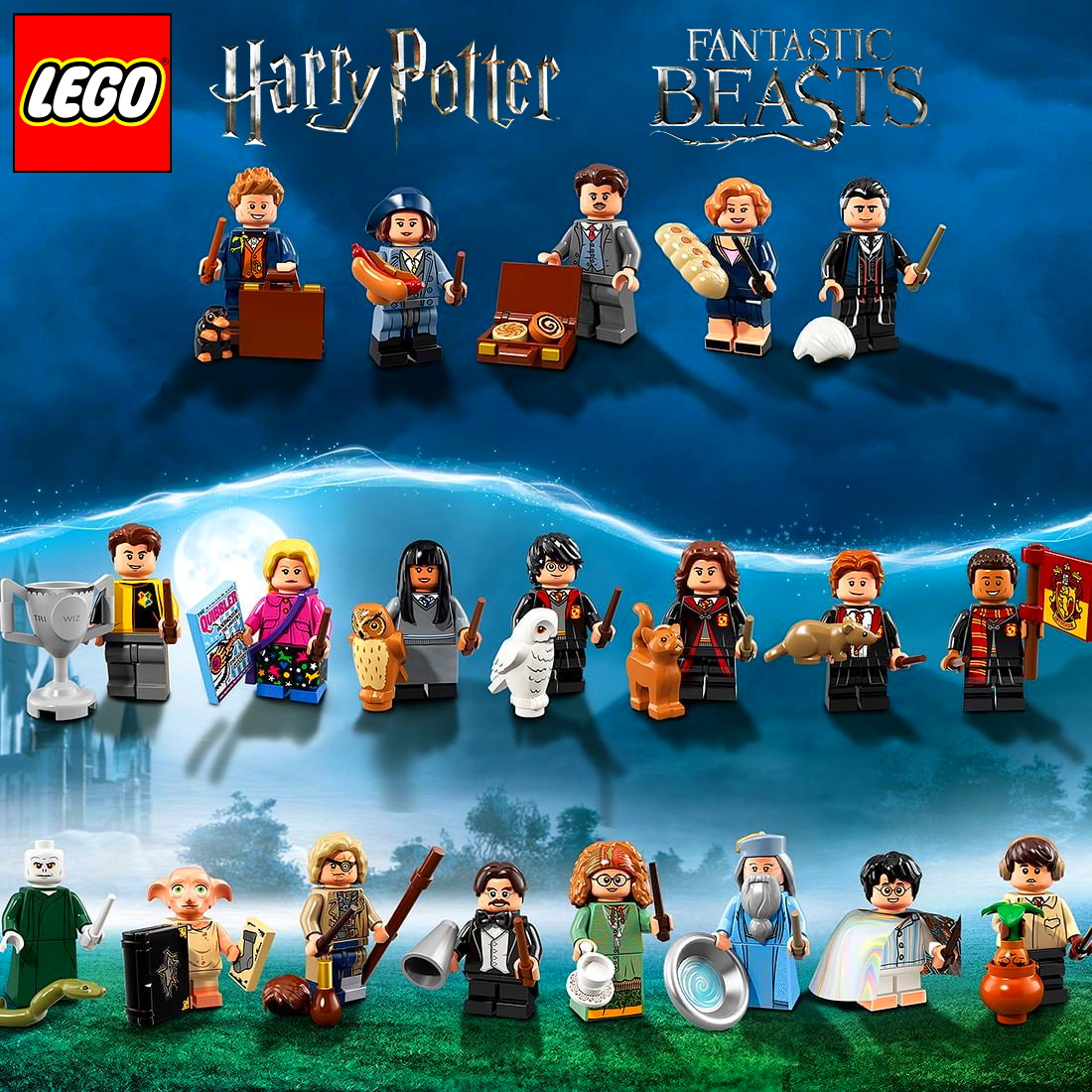 NEW LEGO HARRY POTTER IN PAJAMAS CAPE FROM SET 71022 HARRY POTTER COLHP-15