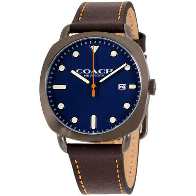 Coach Tatum Quartz Movement Blue Dial Men's Watch 14602141
