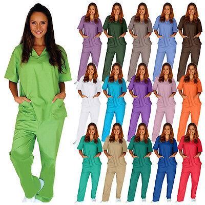 Medical Nursing Scrub Set NATURAL UNIFORMS Men Women Unisex