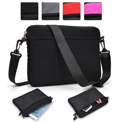 Universal 10 - 11.6 Inch Laptop Sleeve and Shoulder Bag Case 2-in-1 NDR2-2