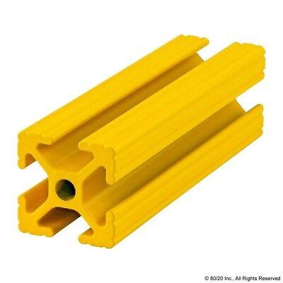 8020 Inc T Slot Aluminum Extrusion Powder Coated 10 Series 1010-yellow-24 N