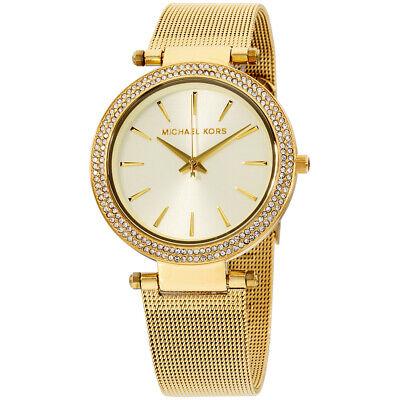 Michael Kors Darci Quartz Movement Gold Dial Ladies Watch MK3368