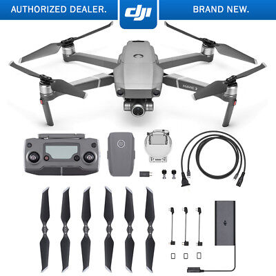 DJI Mavic 2 Zoom Quadcopter Drone w/ 2x Optical Zoom 24-48mm Lens Full HD Video