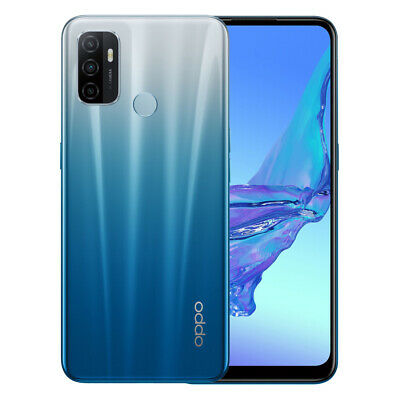 Android Phone - OPPO A53s (Dual Sim 4G/4G, 6.5'', 128GB/4GB) - Fancy Blue
