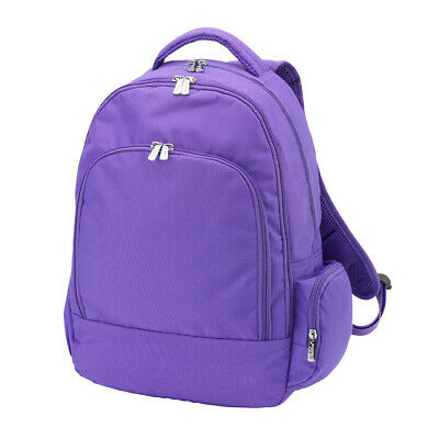 Personalized Backpack | Purple Book Bag | Laptop Bag | Lunch Box - Personalized Bookbag