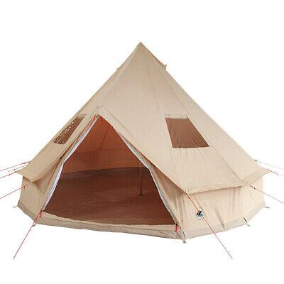 Tenda da campeggio Deserto 8 Tipi 4-8 persone tenda in cotone impermeabile