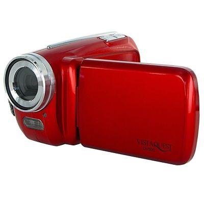 VistaQuest VQ DV500 Digital-Camcorder Videokamera in rot