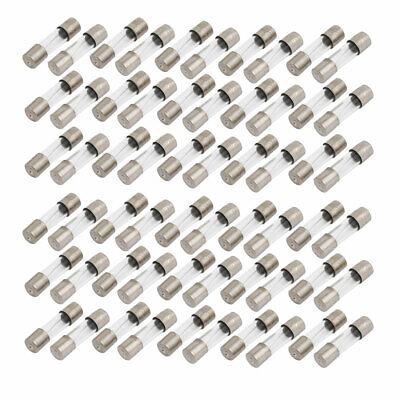 60 pcs Fusible de cristal tubo 5 x 20mm componente electrones 2.5A...