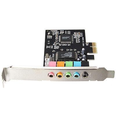 PCI-E 5.1 Sound 6 port sound card CMI8738 cinema stereo Surround Sound Card ED