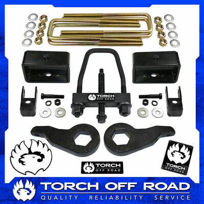 "3"" Front 3"" Rear LIFT Kit 99-07 Chevy Silverado GMC Sierra 1500 4X4 4WD Tool SE"