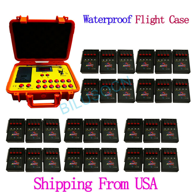 NEW Ship From USA 120 cue 500M distance wireless fireworks firing system control