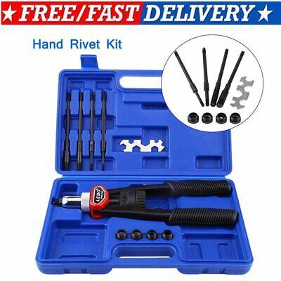 M3-m8 Blind Rivet Nuts Threaded Insert Rivet Gun Tool Hand Riveting Kit