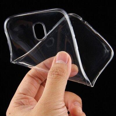Samsung Galaxy J5 2017 DuoS Silikon Tasche Transparent Hülle Bumper Silicon Case 5 Silikon Silicon Case