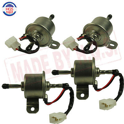 New 4 Pcs Electric Fuel Pump For John Deere Gator Hpx Pro 2020 4020 Am876265