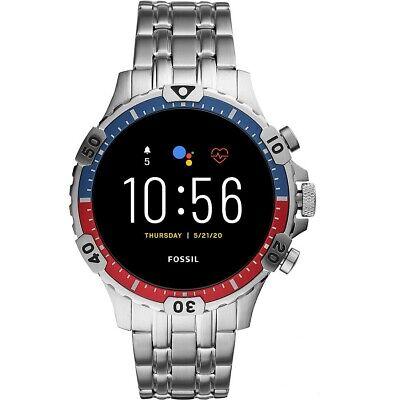 Fossil Q Smartwatch Gen 5 Garrett HR FTW4040
