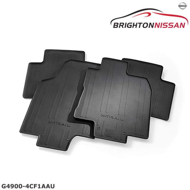 New Genuine Nissan T32 X-Trail Rubber Floor Mat Set G49004CF1AAU RRP $119