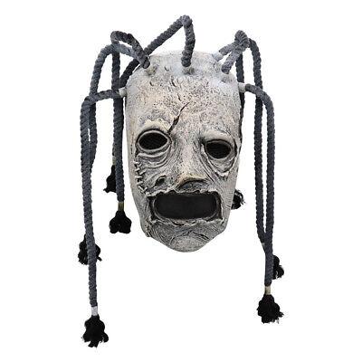 Latex Slipknot Joey Kopfbedeckung Maske Gesichtsmaske Cosplay Halloween 2020 !