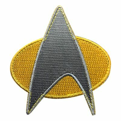 Star Trek Next Generation Uniforms (Star Trek Next Generation Starfleet Uniform Tactical Hook Fastener Patch)