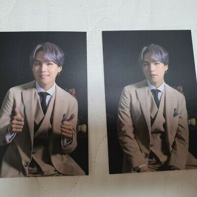 BTS Official Public Broadcast PhotoCard - Map of the Soul 7 ON Suga Yoongi