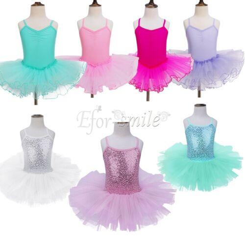 kinder m dchen ballettkleid ballettanzug t llrock t t rock prinzessin kost m ebay