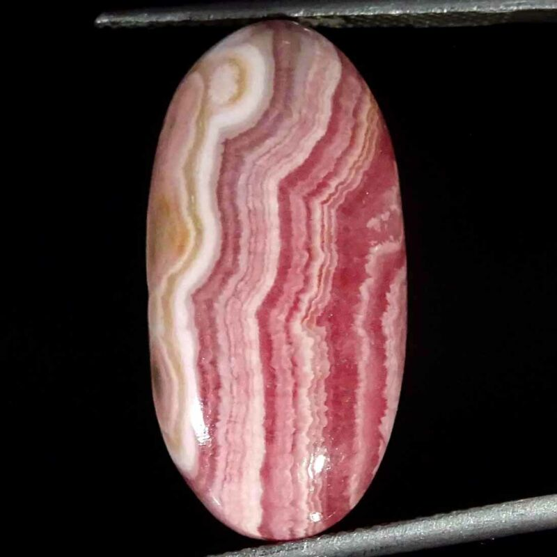 18.50Cts Natural Rhodochrosite Oval Cabochon Loose Gemstone