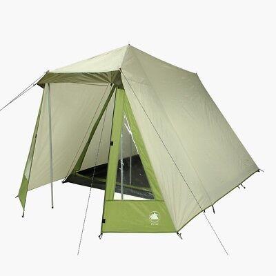 10T Camping-Zelt Kuranda, Firstzelt für 3 Personen, Familien-Hauszelt 3000mm ()