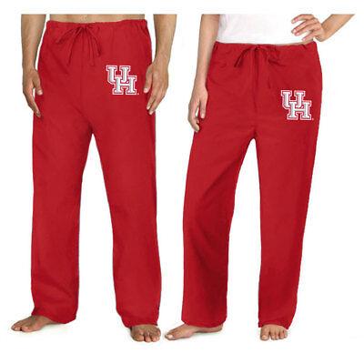 UH Logo Scrubs - University of Houston Scrub Pants - DRAWSTRING BOTTOMS - University Of Houston Logo