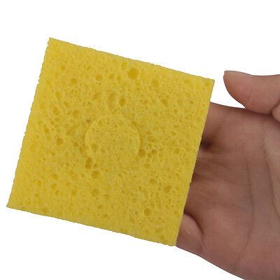 3pcs Soldering Iron Replacement Sponges Welding Cleaning Sponge Pads