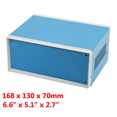Metal Enclosure Cabinet Project Case Diy Junction Box 168x130x70mm 6.6x5.1x2.7