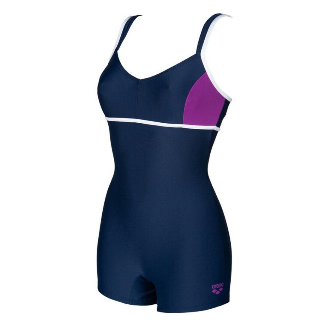 arena Badeanzug Damen Venus Combi Schwimmanzug MaxFit chlorbeständig langes Bein