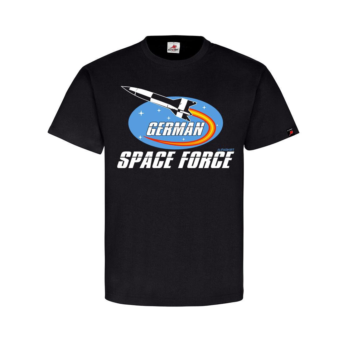 German Space Force Deutschland Weltraum Programm V2 Rakete T Shirt #31796