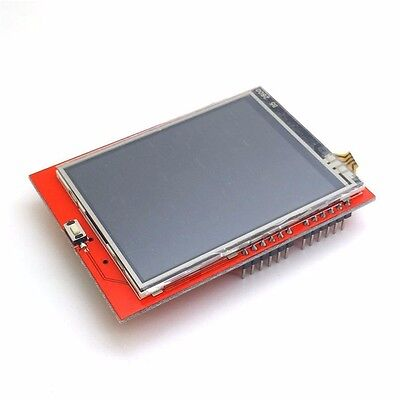 2.4 Tft Lcd Display Shield Touch Panel Ili9341 240x320 For Arduino Uno Mega