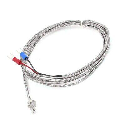 Thermocouple K Type Temperature Sensor 6mm Screw Thread Wire 0-400 C Degrees
