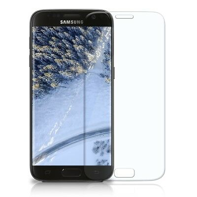 3D Panzer Glasfolie Samsung Galaxy S7 Curved 9H Display Schutz Folie Full Screen
