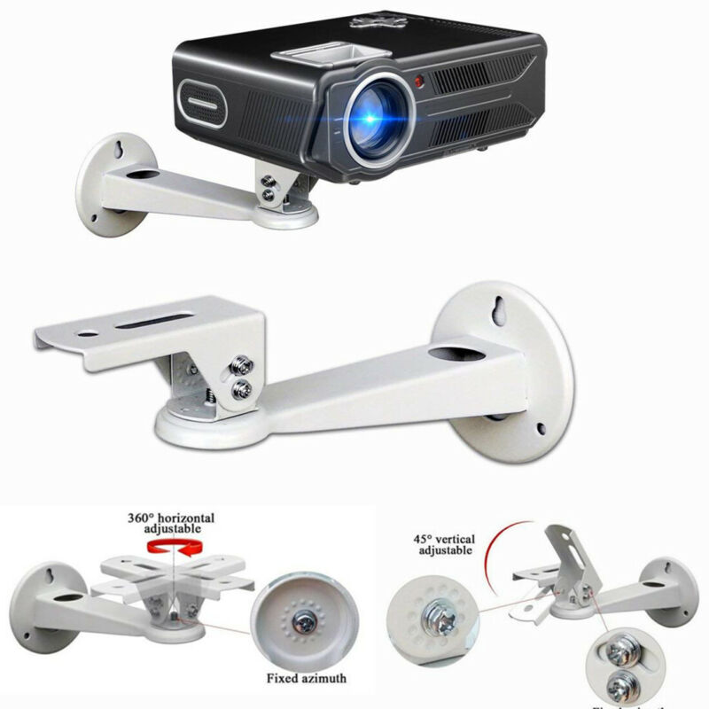 Universal Mini Projector Ceiling Project Wall Mount Bracket Metal Holder Stand