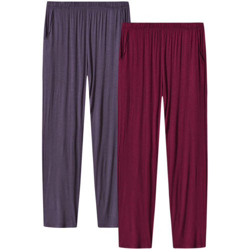 Womens Soft Modal Pajama Sleepwear Lounge Pants with Pocket