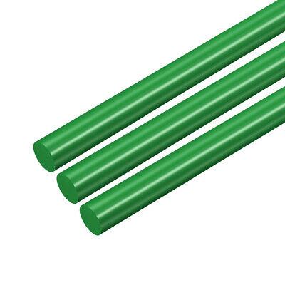 Barra redonda plástico POM 8mm de diámetro Varilla redonda plástico verde 3uds