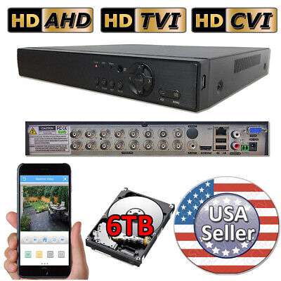 Sikker 16 Channel DVR home video recorder system 1080P HDMI