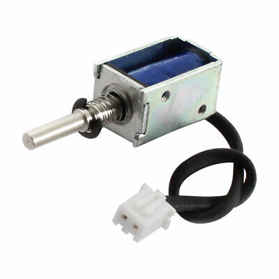 C.C. 12V 3,6W 80g/3mm Tipo Push-Pull Imán Electroimán Solenoide Eléctrico