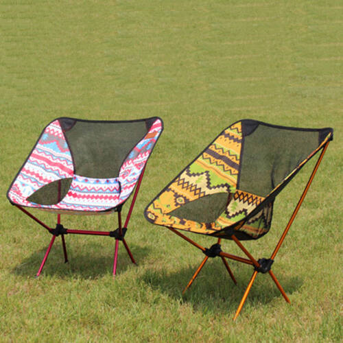 Portable Ultra Light Folding Camp Camping Chair Outdoor Hiking Foldable  Chairs