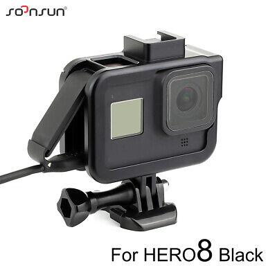Aluminum Alloy Protective Frame Housing Case Border Mount for GoPro Hero 8 Black