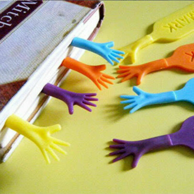4pcs/lot Creative Bookmarks Plastic Children Book Marks Stationery Gift Prize