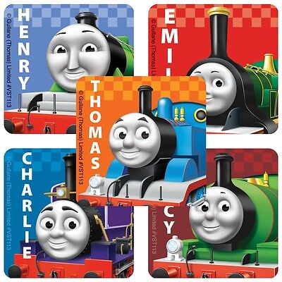 Thomas Train Party (25 Thomas Tank Engine Train Characters Stickers Party Favor Teacher)