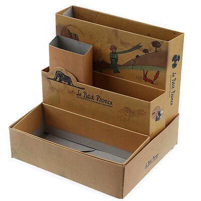 DIY Paper Stationery Cosmetic Desk Organizer Board Fairy Tale Storage Box - Diy Desk Organizer