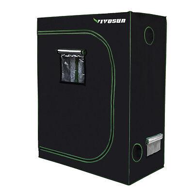 "VIVOSUN 48""x24""x60"" Mylar Hydroponic Grow Tent Room for Indoor Plant Growing 2x4"