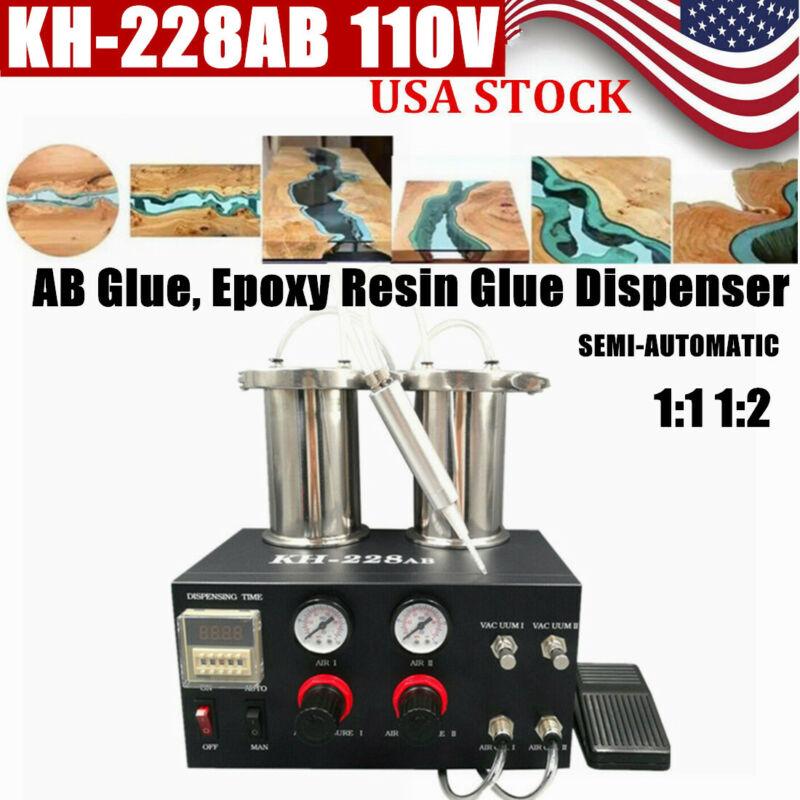 Electric Caulking 2-part AB Glue Gun Epoxy Dispensing Machine Quantify Dispenser